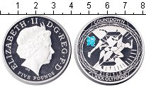 Изображение Монеты Великобритания 5 фунтов 2010 Серебро Proof-