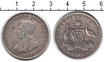 Изображение Монеты Австралия 1 флорин 1923 Серебро VF Георг V