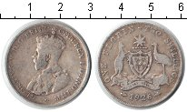 Изображение Монеты Австралия 1 флорин 1926 Серебро VF Георг V