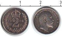Изображение Монеты Великобритания 2 пенса 1902 Серебро XF Эдвард VII