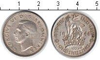 Изображение Монеты Великобритания 1 шиллинг 1944 Серебро XF Георг V