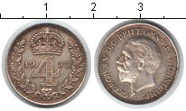 Изображение Монеты Великобритания 4 пенса 1933 Серебро XF Георг V