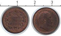 Изображение Монеты Великобритания 1/3 фартинга 1902 Медь XF Эдвард VII