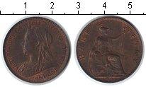 Изображение Монеты Великобритания 1/2 пенни 1901 Медь XF Виктория