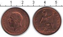 Изображение Монеты Великобритания 1/2 пенни 1936 Медь XF Георг V