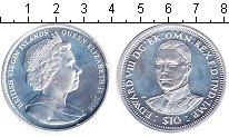 Изображение Монеты Виргинские острова 10 долларов 2006 Серебро UNC- Елизавета II. Эдвард