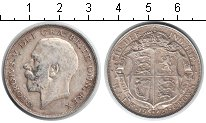 Изображение Монеты Великобритания 1/2 кроны 1921 Серебро XF