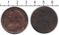 Изображение Монеты Великобритания 1 пенни 1901 Медь XF Виктория