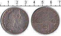 Изображение Монеты Великобритания 1/2 кроны 1697 Серебро  Вильгельм III