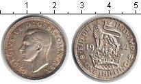 Изображение Монеты Великобритания 1 шиллинг 1942 Серебро UNC Георг VI