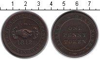 Изображение Монеты Великобритания 1 пенни 1812 Медь  Токен