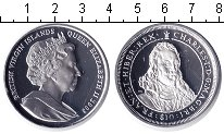 Изображение Монеты Виргинские острова 10 долларов 2008 Серебро Proof- Елизавета II.