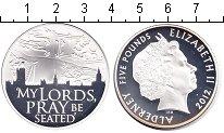 Изображение Монеты Великобритания Олдерни 5 фунтов 2012 Серебро Proof-