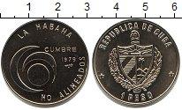 Изображение Мелочь Куба 1 песо 1979 Медно-никель UNC-