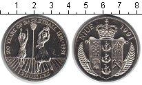 Изображение Мелочь Ниуэ 5 долларов 1991 Медно-никель UNC-