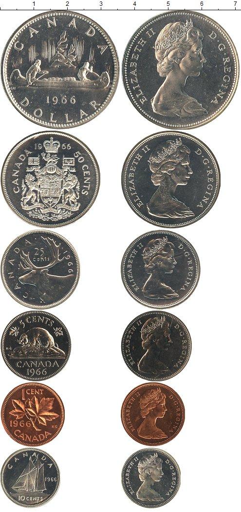 Картинка Наборы монет Канада Канада 1965  1965