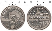 Изображение Монеты Люксембург 5 экю 1993 Медно-никель UNC-