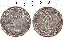 Изображение Монеты Бельгия 50 франков 1935 Серебро XF