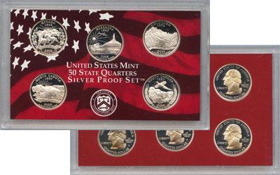 Изображение Подарочные наборы США Выпуск монет 2006 в качестве Пруф 2006 Серебро Proof