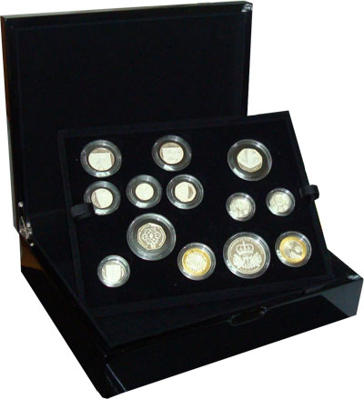 Изображение Подарочные наборы Великобритания Выпуск монет 2010 2010 Серебро Proof