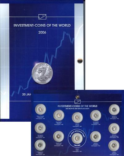 Изображение Подарочные наборы Малави Инвестиционные монеты мира 2006 Серебро Proof