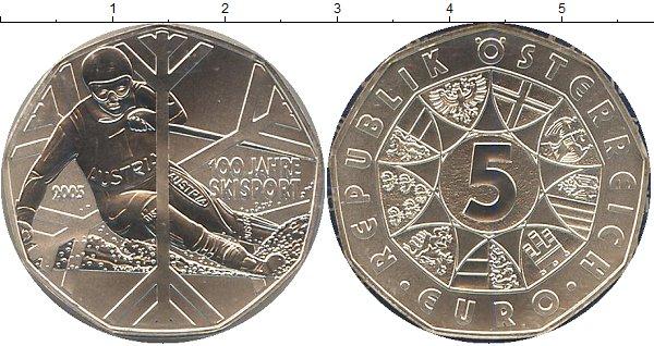 Картинка Подарочные наборы Австрия Лыжный спорт Серебро 2005
