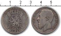 Изображение Монеты Бельгия 2 франка 1866 Серебро VF