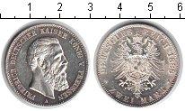 Изображение Монеты Пруссия 2 марки 1888 Серебро UNC-