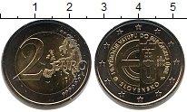 Изображение Мелочь Словакия 2 евро 2014 Биметалл UNC-