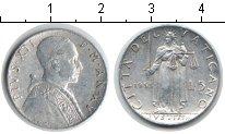 Изображение Монеты Ватикан 5 лир 1953 Алюминий XF