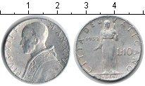 Изображение Монеты Ватикан 10 лир 1952 Алюминий VF Пий XII