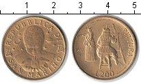 Изображение Монеты Сан-Марино 200 лир 1997 Медь XF Живопись