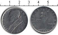 Изображение Монеты Ватикан 100 лир 1956 Железо XF