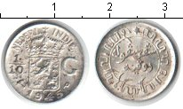 Изображение Монеты Нидерландская Индия 1/10 гульдена 1945 Серебро XF