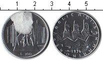 Изображение Монеты Сан-Марино 100 лир 1976 Железо XF Семья