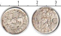 Изображение Монеты Нидерландская Индия 1/10 гульдена 1945 Серебро