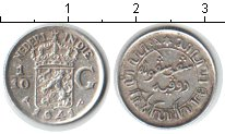 Изображение Монеты Нидерландская Индия 1/10 гульдена 1941 Серебро XF