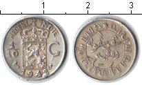 Изображение Монеты Нидерланды Нидерландская Индия 1/10 гульдена 1942 Серебро