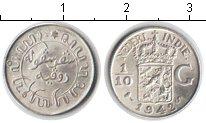 Изображение Монеты Нидерландская Индия 1/10 гульдена 1942 Серебро UNC-