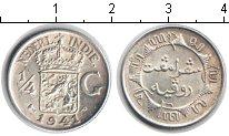 Изображение Монеты Нидерландская Индия 1/4 гульдена 1941 Серебро XF /
