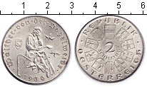 Изображение Монеты Австрия 2 шиллинга 1930 Серебро XF