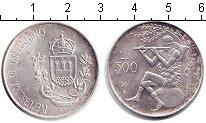 Изображение Монеты Сан-Марино 500 лир 1981 Серебро Proof