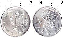 Изображение Монеты Сан-Марино 500 лир 1981 Серебро UNC-