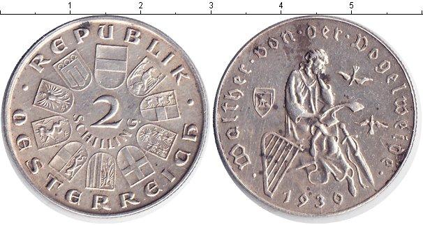 Картинка Монеты Австрия 2 шиллинга Серебро 1930