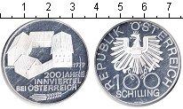 Изображение Монеты Австрия 100 шиллингов 1979 Серебро Proof-