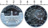 Изображение Монеты Италия 10 евро 2007 Серебро Proof-