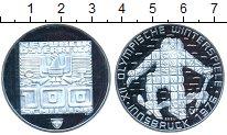 Изображение Монеты Австрия 100 шиллингов 1976 Серебро Proof- Зимняя олимпиада Инс