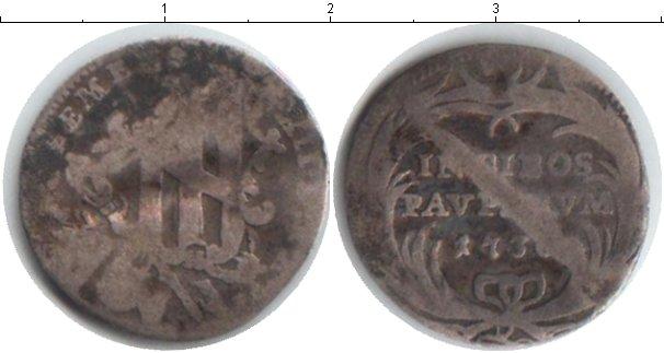 Картинка Монеты Ватикан 1 гроссо Серебро 1736