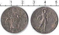 Изображение Монеты Ватикан 50 сентим 1930 Медно-никель XF