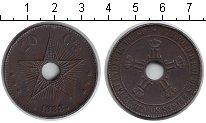 Изображение Монеты Бельгийское Конго 10 сантимов 1888 Медно-никель XF